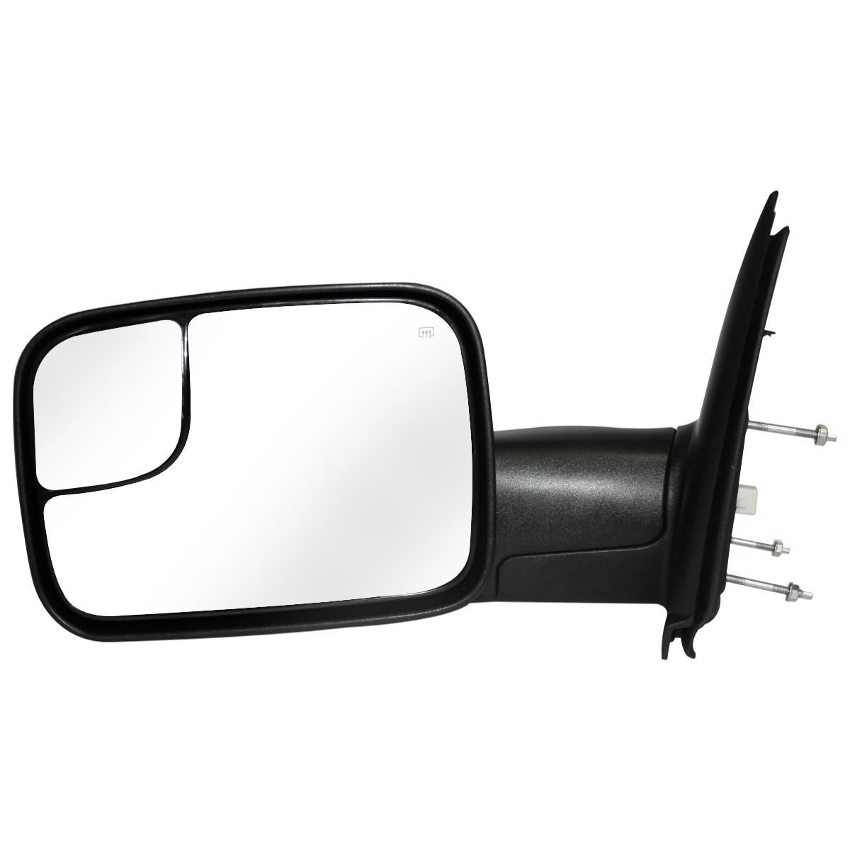 Power Heated Towing Left Lh Driver Side Mirror For A Dodge