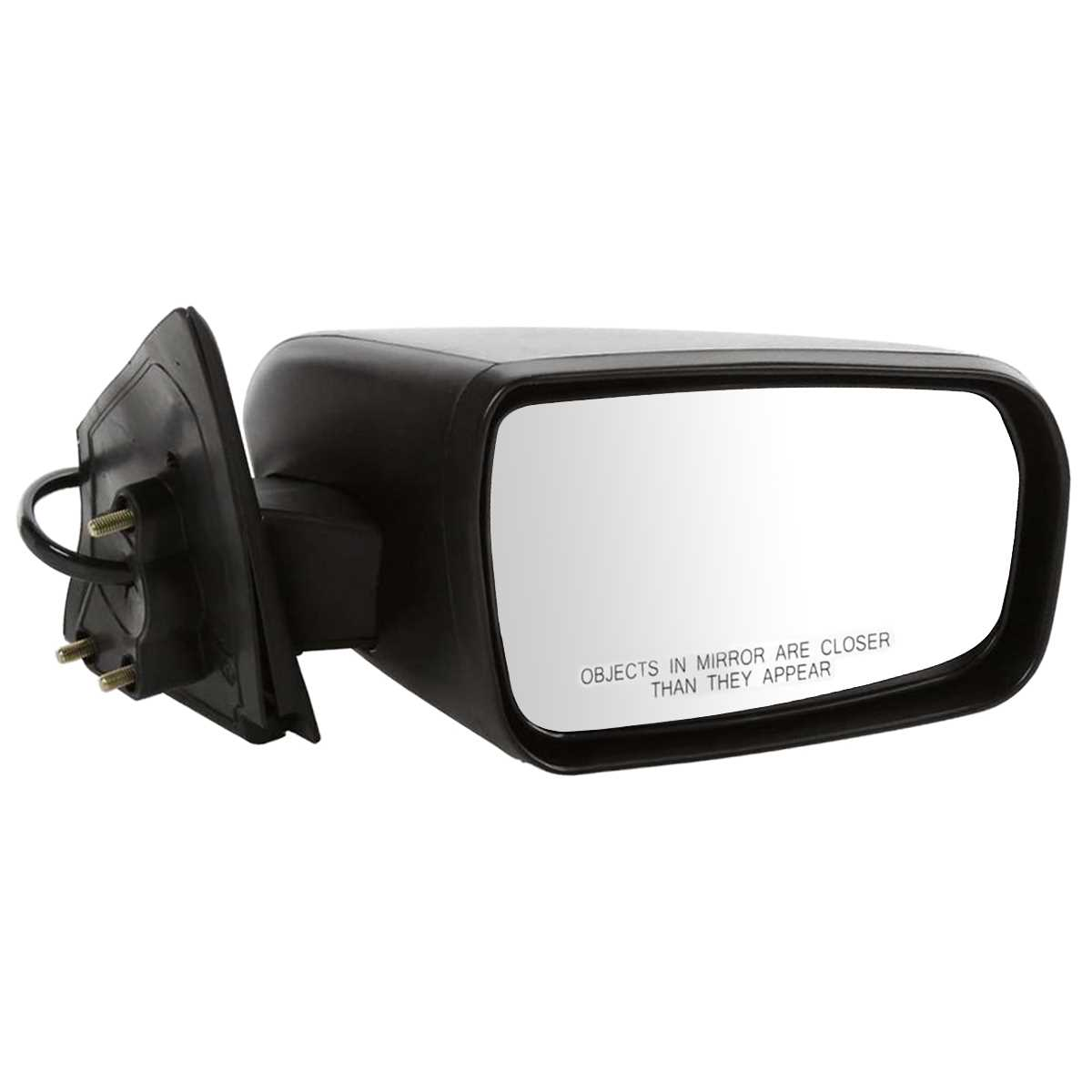 Mitsubishi Side Mirror Replacement: NEW ELECTRIC POWER PASSENGER SIDE VIEW MIRROR FOR