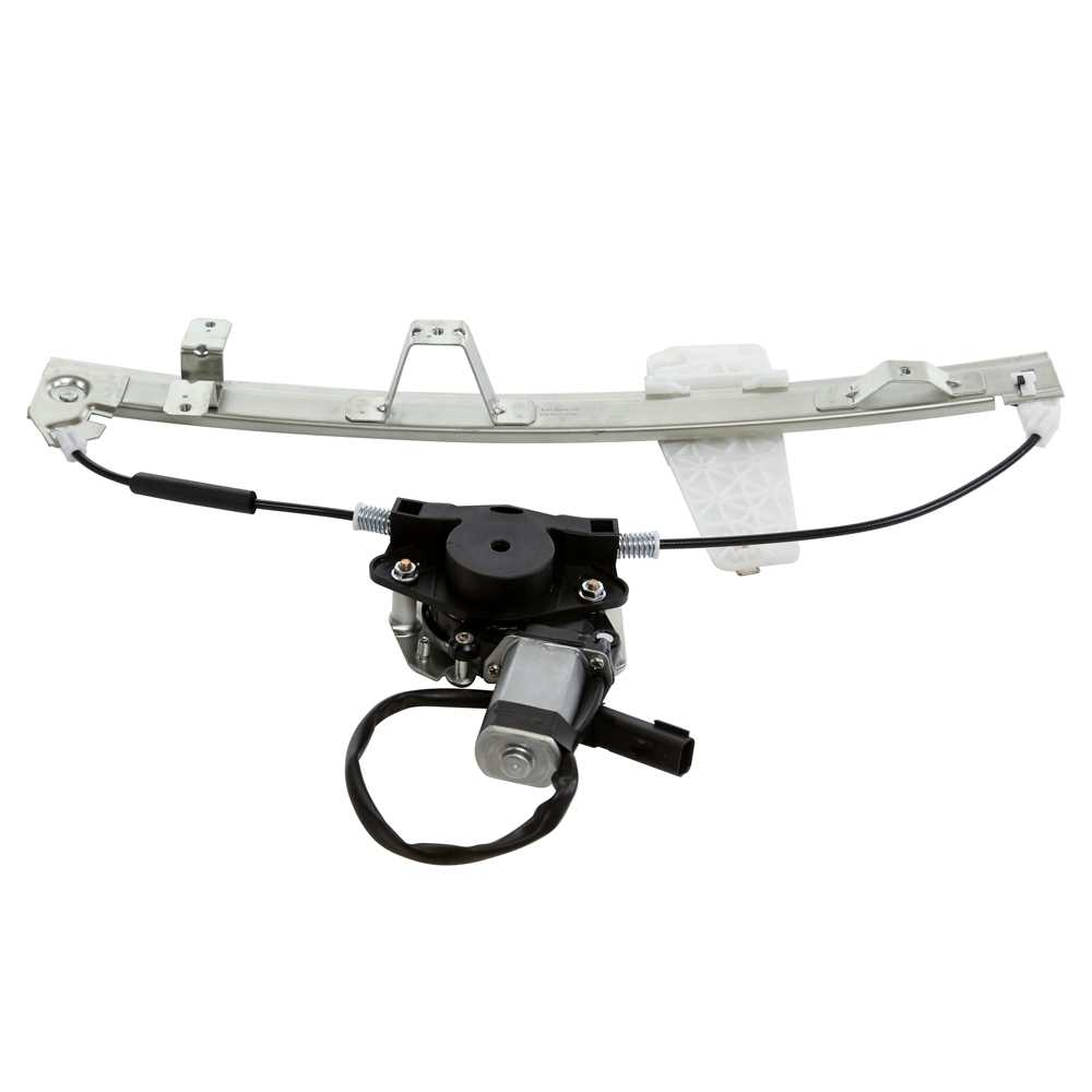 New front right side power window regulator w motor for a for Right window