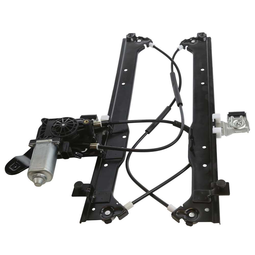 Rear right window regulator w motor for escalade avalanche for Right window