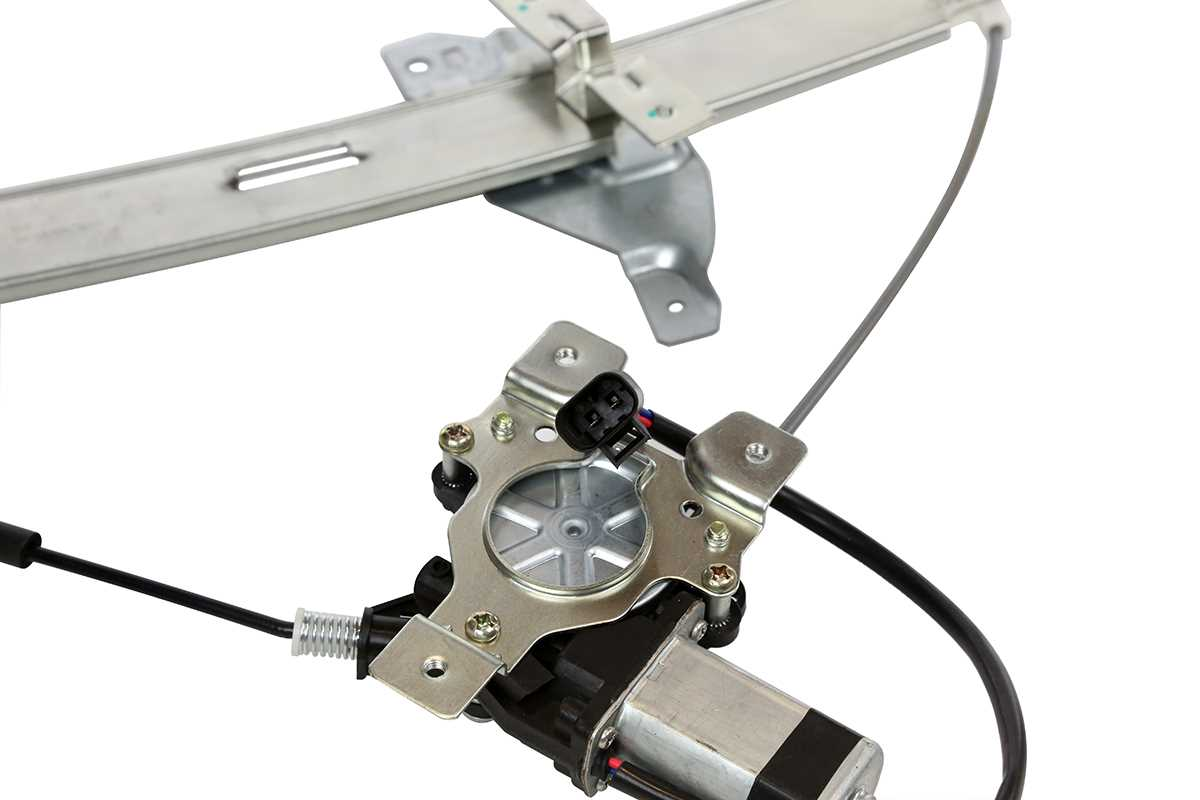 Front passenger side power window regulator w motor for a for 2001 chevy impala window regulator