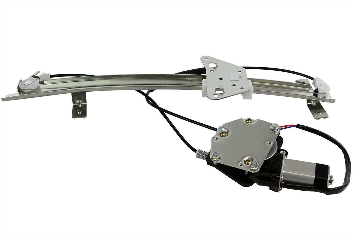 New power window regulator w motor front driver side fits Window motor and regulator cost